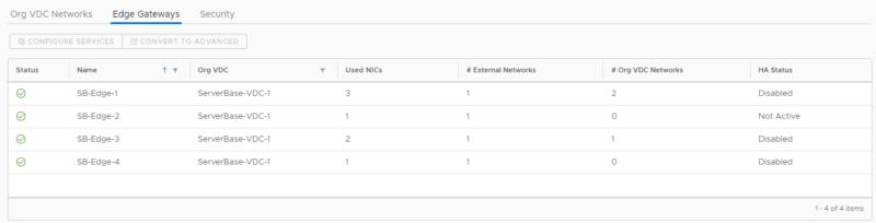 Konfiguration von Edge Gateways als Zugangspunkte ins Internet