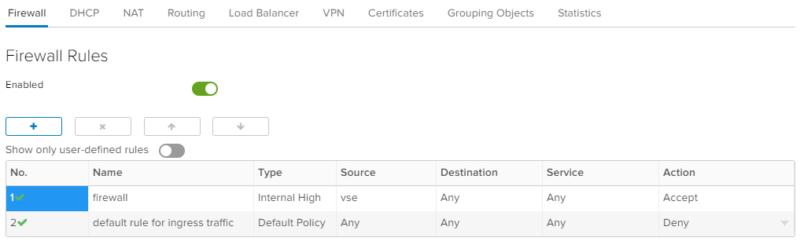 Erstellung von Firewall-Regeln