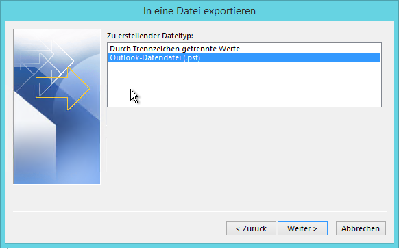 PST Export