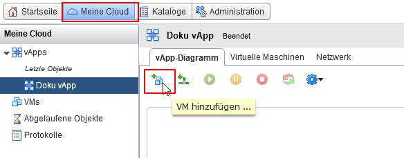 Erstellen einer VM von einem ISO File