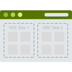 Web-based admin console vCloud Director