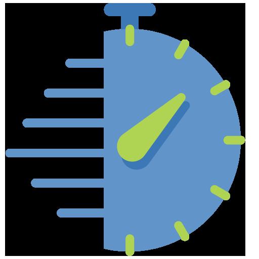 Minimieren Sie Datenverluste mit einer RPO von bis zu 5 Minuten