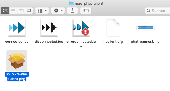 VMware SSL VPN Plus Client für Mac Catalina installieren