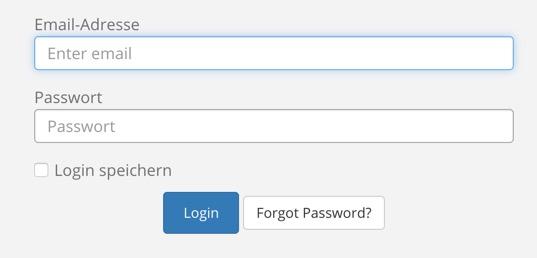 ServerBase Kundencenter Login